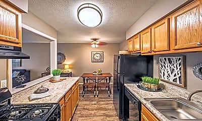 Kitchen, The Edge at Arlington, 1