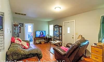 Living Room, 2020 N Glenwood Ave, 1