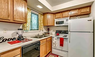 Kitchen, The Arch Bloomington-Per Bed Lease, 0