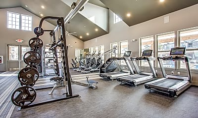 Fitness Weight Room, Bexley at WestRidge, 1