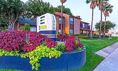 Community Signage, The Edison Apartments, 2
