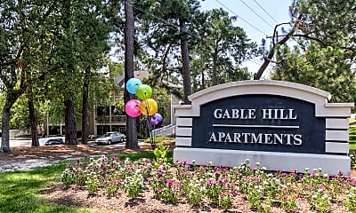 Community Signage, Gable Hill, 2