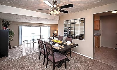 Dining Room, North Pointe Apartments, 1