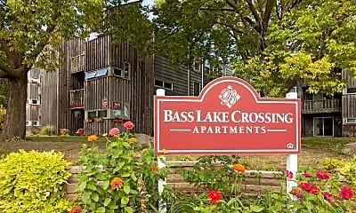 Community Signage, Bass Lake Crossing, 2