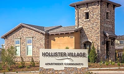 Community Signage, Hollister Village, 1