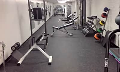 Fitness Weight Room, The Roosevelt Historic Homes, 2