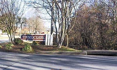 Community Signage, Timbercreek, 1