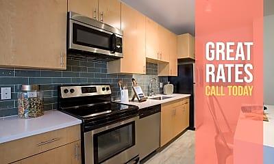 Kitchen, LoHi Gold Apartments, 0