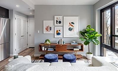 Living Room, 2415 Church Ave 501, 1