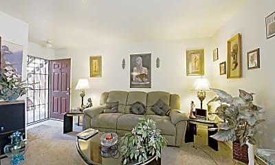 Living Room, Sunrise Terrace Apartments, 1