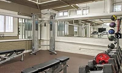 Fitness Weight Room, 1301 Massachusetts Ave NW, 2