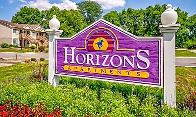 Community Signage, Horizons, 2