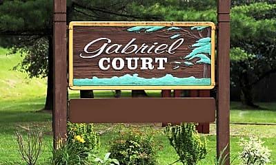 Community Signage, Gabriel Courts, 2
