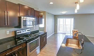 Kitchen, North Ridge Apartments, 1