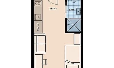 Bedroom, 844 S W Temple, 2