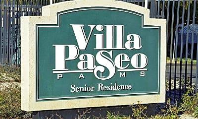 Community Signage, Villa Paseo Palms - Senior Residence 55+, 2