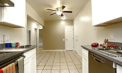 Kitchen, Redwood Valley Apartment Homes, 1