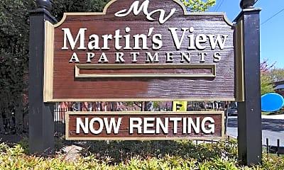 Community Signage, Martins View, 2