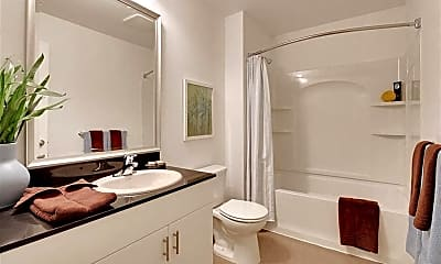 Bathroom, Six Oaks Apartments, 2