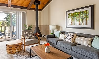 Living Room, Timbers at Kenmore, 0