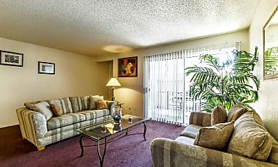 Living Room, Stoney Brook Apartments, 1