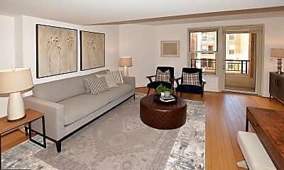Living Room, 915 E St NW 1114, 1