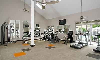Fitness Weight Room, Villa Angelina, 2