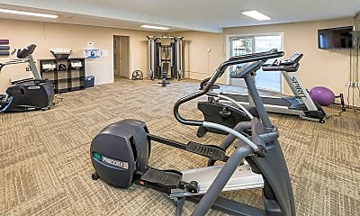 Fitness Weight Room, Devonshire Square, 2