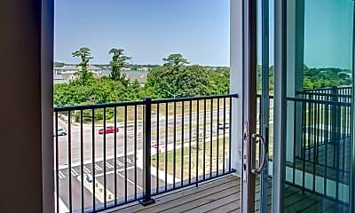 Patio / Deck, Marina Villa Apartments, 2