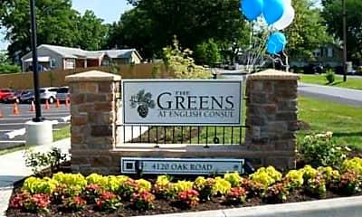 Community Signage, The Greens At English Consul, 1