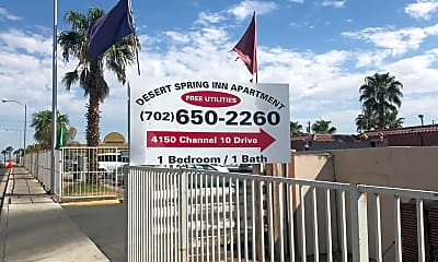 Desert Springs Inn, 1