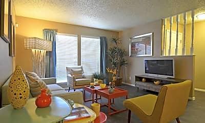 Living Room, The Ridge at Southcross, 1