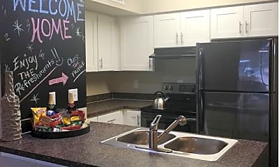 Kitchen, Parke East Apartments, 1