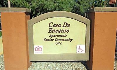 Community Signage, Casa De Encanto Apartments, 2