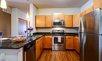Kitchen, Mammoth Springs Apartments, Townhomes & Lofts, 0