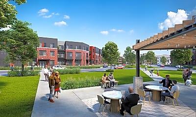 Building, Velo Village Apartments, 1