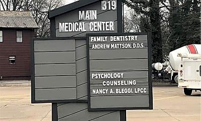 Community Signage, 319 N Main St, 1