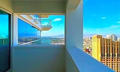 Patio / Deck, 2700 S Las Vegas Blvd 3604, 2