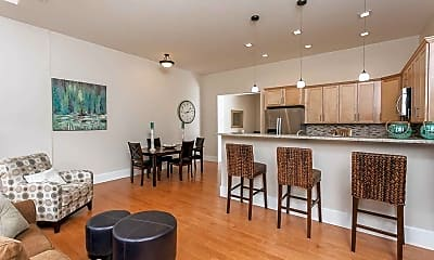Dining Room, Academy Place Apartments, 0