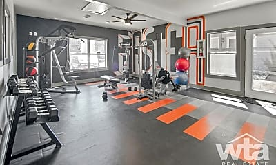 Fitness Weight Room, 9500 Dessau Rd, 2