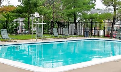 Pool, Middle River Townhomes, 2