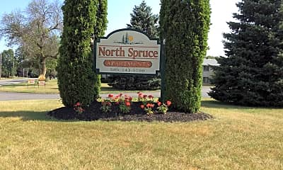 North Spruce Apartments, 1