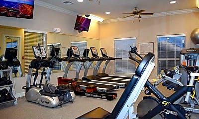 Fitness Weight Room, Longhorn Crossing, 2