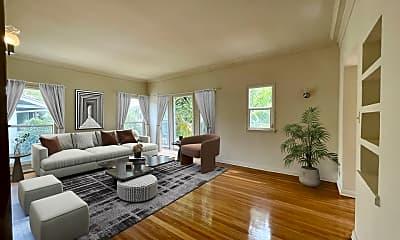 Living Room, 6127 Alcott St 1/2, 0