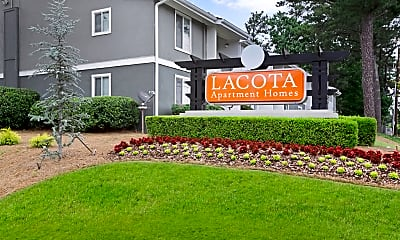 Community Signage, Lacota Apartments, 0