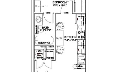Building, 2400 Bryan St, 1