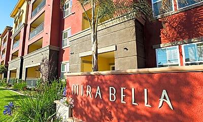 Community Signage, Mira Bella Apartments, 1