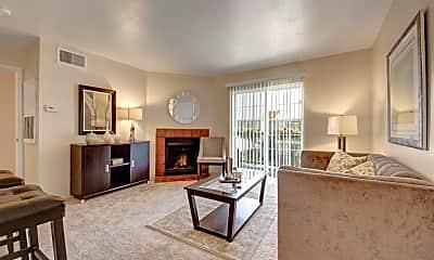 Living Room, High Plains Apartments, 1