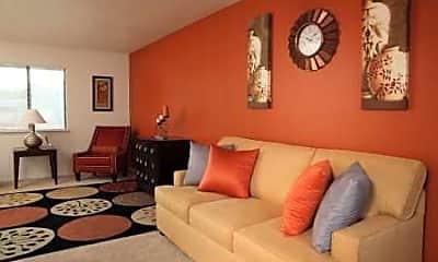 Living Room, Fort Stewart Family Housing, 1