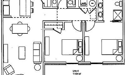 Building, 465 S Locust Ave, 1